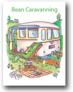 Bean Greeting Cards