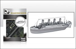 3D Metal Model Kits - Titanic