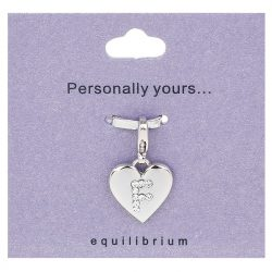 Personalised Letter Charm F