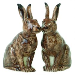 British Wild life Hare Salt and Pepper Set