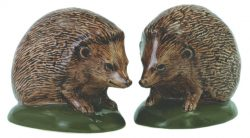 British Wildlife Hedgehog Salt and Pepper Set