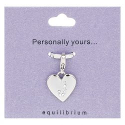 Personalised Letter Charm J