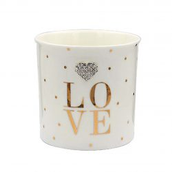 Mad Dots 'LOVE' candle