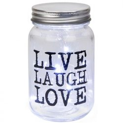 Led Jar - Live, Laugh, Love