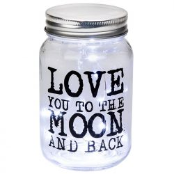 LED Jar - Love you to the Moon and Back