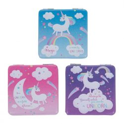 Unicorn mini mirror - Purple