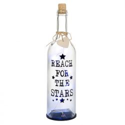 LED Wine Bottle - Reach for the Stars
