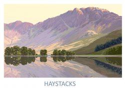 Haystacks Fine Art Poster