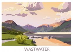 Wastwater Fine Art Poster