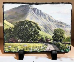 Great Gable Standing Slate