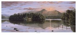 Derwent Sunset Original Oil Painting