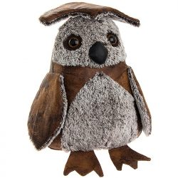 Antique Doorstop - Owl