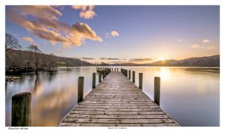 Sunset over Coniston