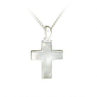 Cross Pendant - Mother of Pearl