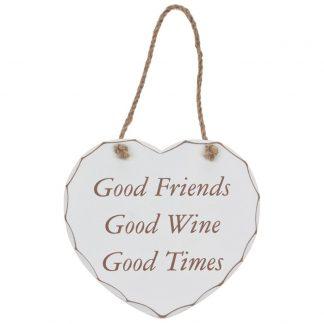 Good Friends Plaque