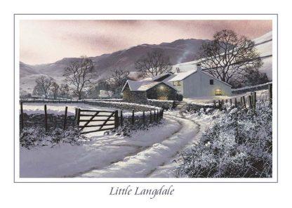 Little Langdale Greeting Card