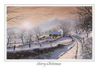 Winter at Little Langdale Christmas Card