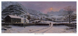 Fellfoot and the Langdales Original Oil Painting