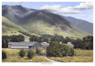 Blencathra Summer Original Oil Painting