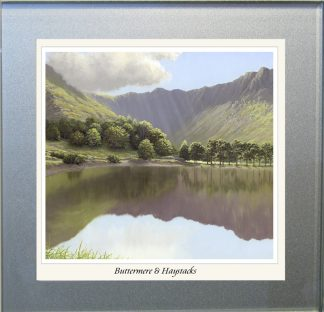 Buttermere & Haystacks Glass Coaster