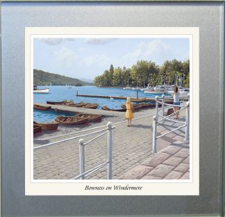 Bowness on Windermere Glass Coaster