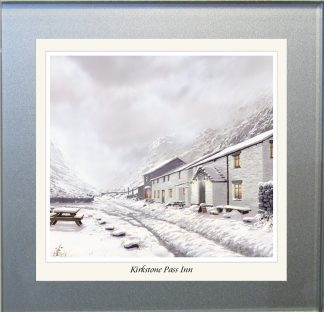 Kirkstone Pass Inn Glass Coaster