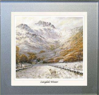 Langdale Winter Glass Coaster