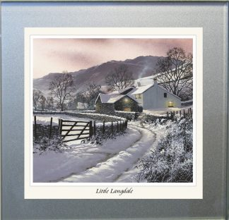 Little Langdale Glass Coaster