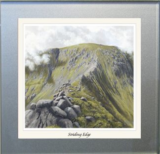 Striding Edge Summer Glass Coaster