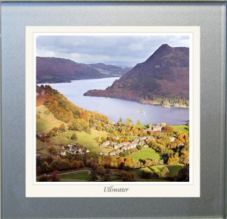 Photographic Glass Coaster - Ullswater