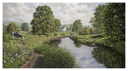 An English Summer - Original Oil Painting