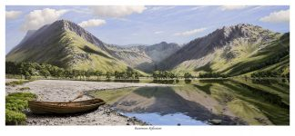 Buttermere Reflections Limited Edition Print