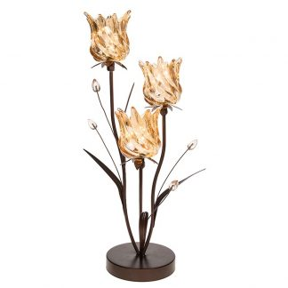 Soft Glow LED Light - Tulip Amber