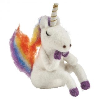 Felted Rainbow Unicorn