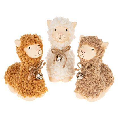 Fluffy Llama Lying - Small