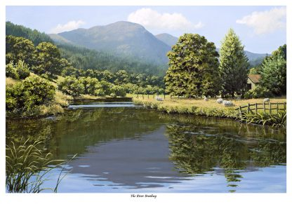 The River Brathay Limited Edition Print