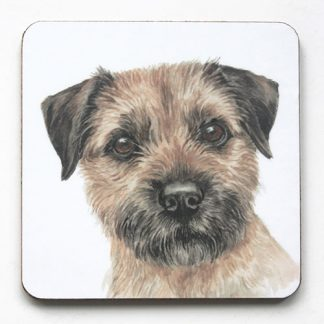 Border Terrier Coaster