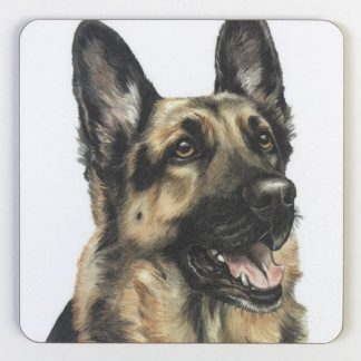 German Shepard Coaster