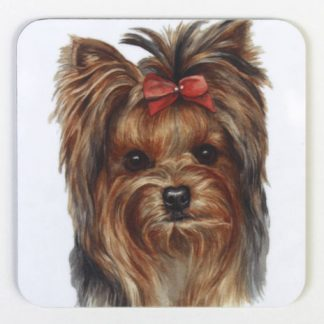 Yorkshire Terrier Coaster