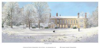 Cockington Court in the Snow