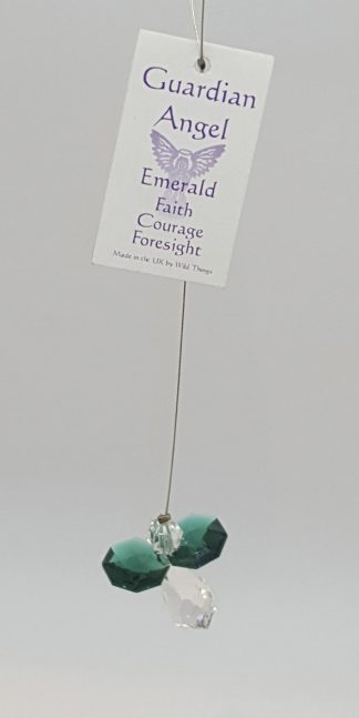 Birthstone Crystal Fairy - Emerald