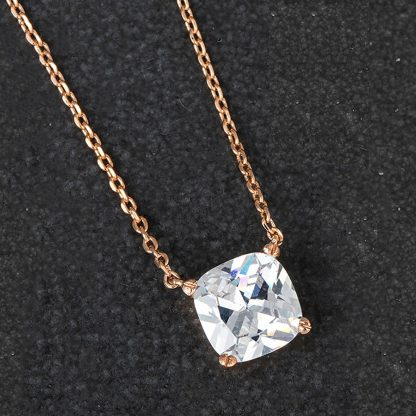 Crystal Sparkle Cube Necklace