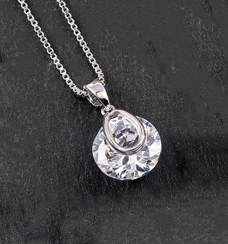 Crystal Drop Necklace SP