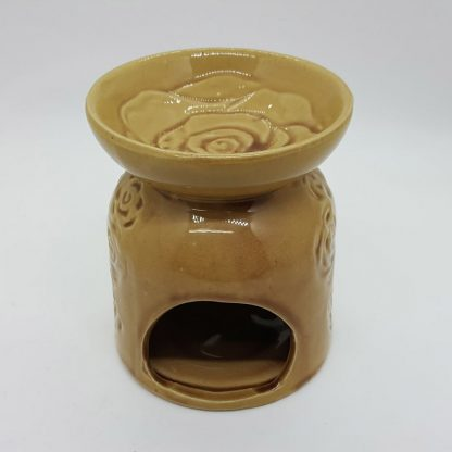 Large Oil Burner Beige