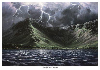 Lightning Storm - Buttermere