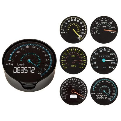 Speedometer Coasters Set of 6