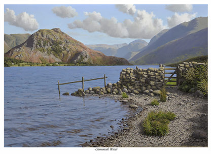 Crummock Water and Rannerdale Knotts Lake District Picture