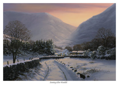 Evening glow Wasdale Limited Edition Print