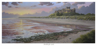 Bamburgh Castle Limited Edition Print