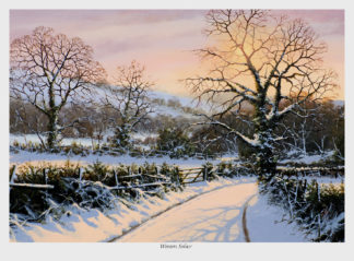 A Winters Solace Lake District Picture